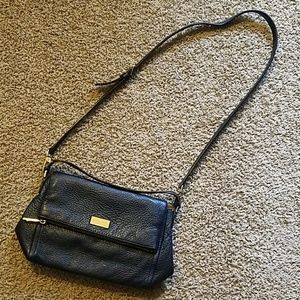 Kate Spade Black Leather Small Crossbody Purse